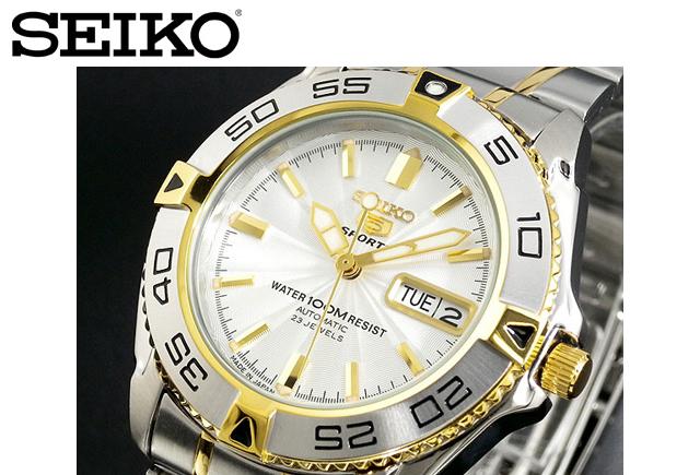 セイコー5 スポーツ腕時計