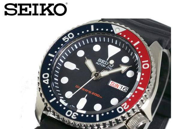 セイコー ダイバー腕時計