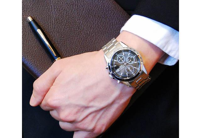 セイコーメタルバンド腕時計