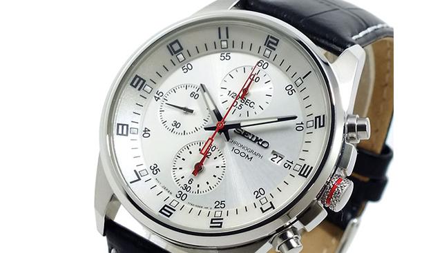 セイコークロノグラフ腕時計