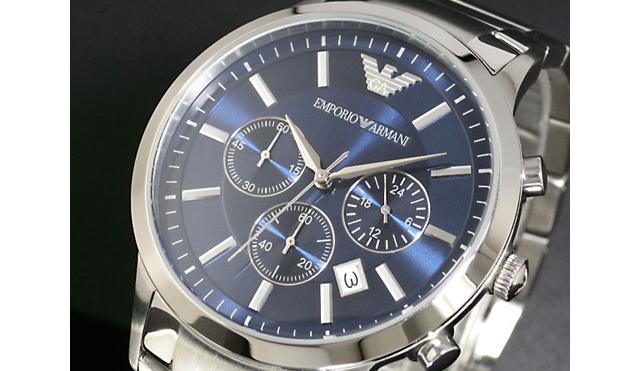エンポリオアルマーニ メタルバンド 腕時計