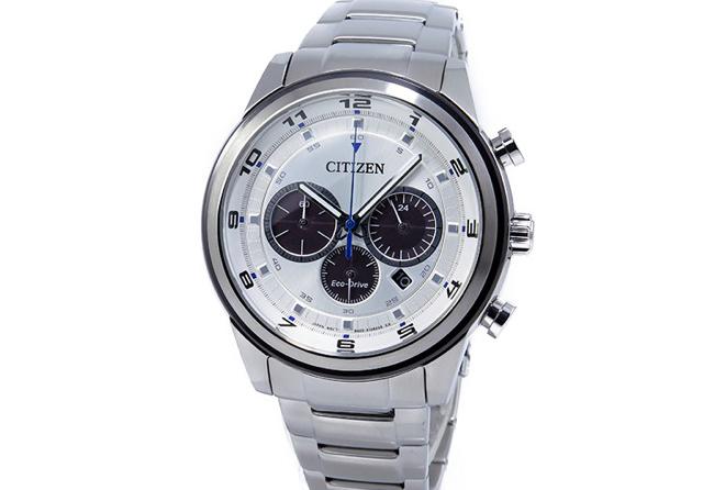 シチズンクロノグラフ腕時計