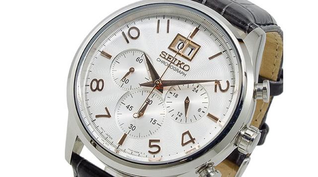 フォーマルクロノグラフ腕時計