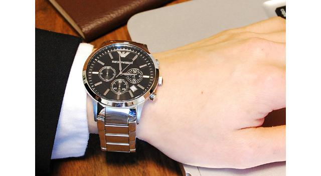 エンポリオ アルマーニ EMPORIO ARMANI メンズ 腕時計 AR2434
