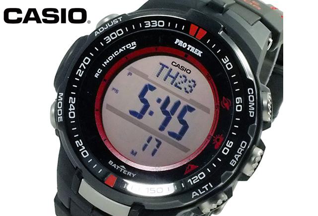カシオプロトレック腕時計