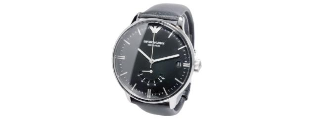彼氏の誕生日プレゼントエンポリオアルマーニ腕時計
