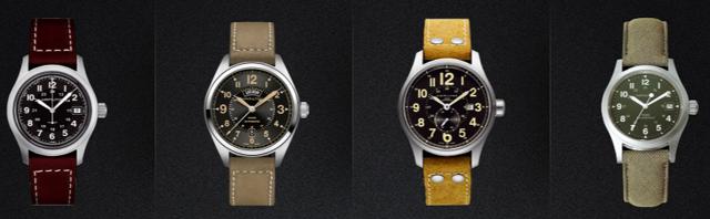 ハミルトンカーキ腕時計一覧