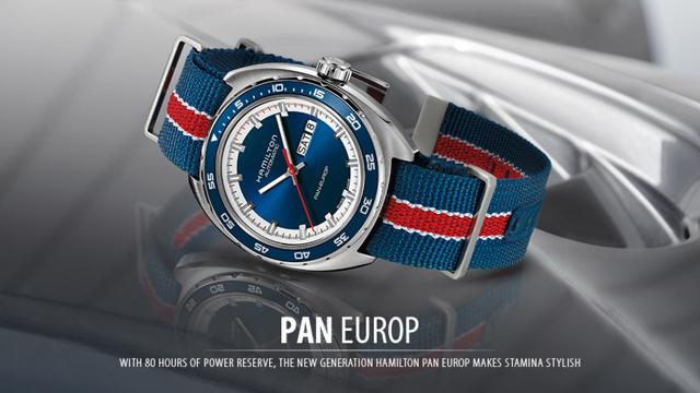 ハミルトンカーキ腕時計