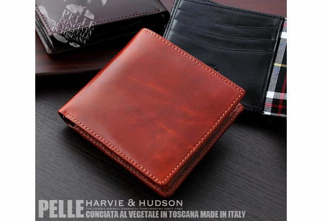 ハービーアンドハドソン二つ折り財布