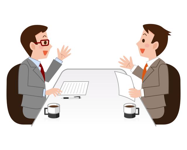 ビジネスマン 雑談力