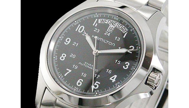 大人の魅力を引き出してくれる!カーキシリーズ メタルバンド腕時計