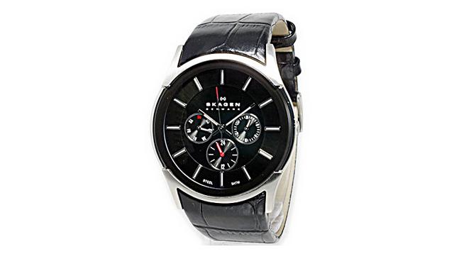 30代男性腕時計スカーゲン