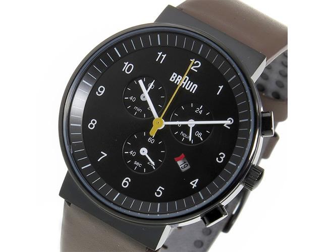 ブラウン腕時計