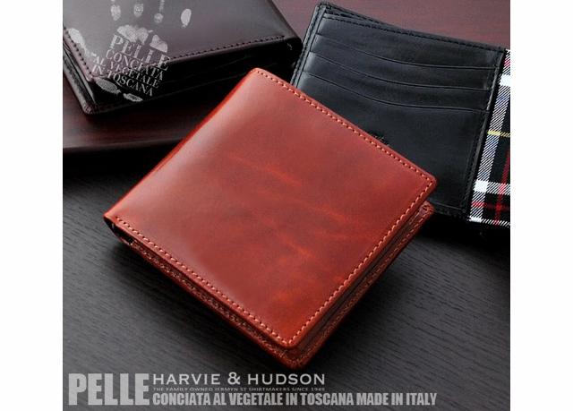 ハービーアンドハドソン短財布