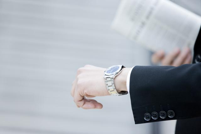 5万円以下のスーツ合う腕時計
