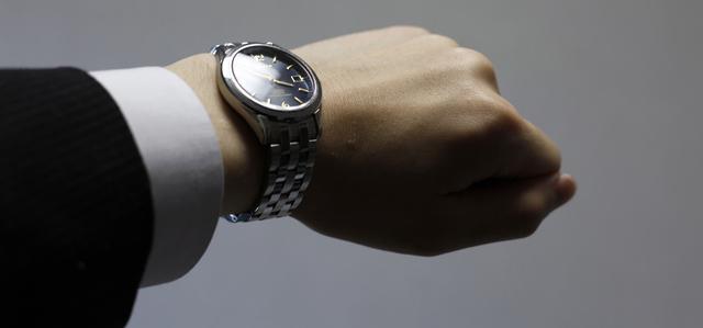時計を意識して過ごす