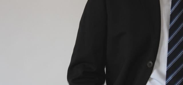 ネクタイ芯付き