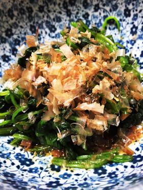 【基本レシピ】ほうれん草のおひたし