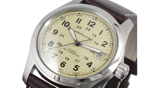 ハミルトンカーキH70455523腕時計