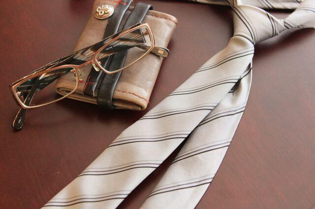 芯があるかないかはネクタイの結び方に出る!