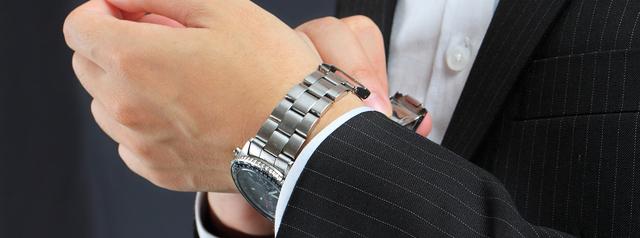 メタルバンド腕時計耐久性
