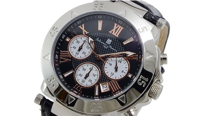 サルバトーレマーラ革ベルト腕時計