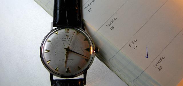 腕時計故障