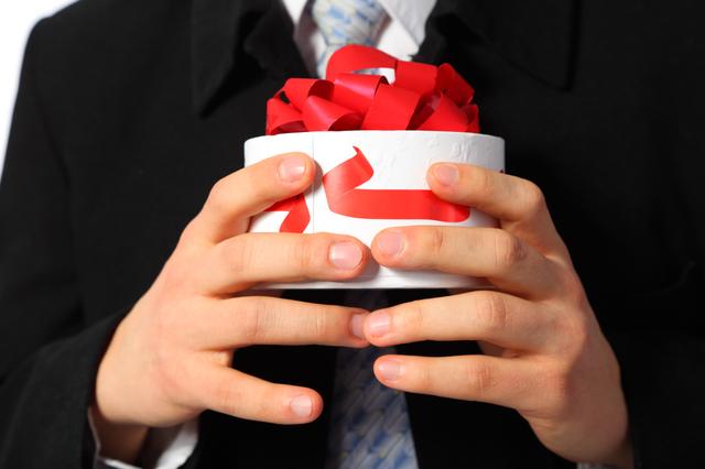 自分へ財布をプレゼント