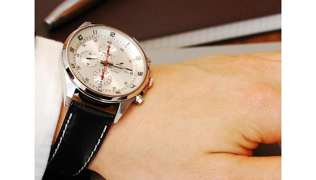 営業マン腕時計セイコー