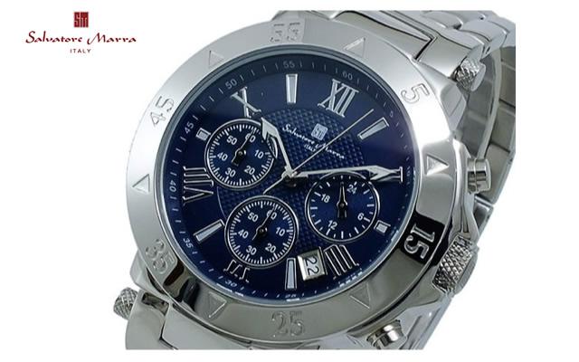 サルバトーレマーラメタルバンド腕時計
