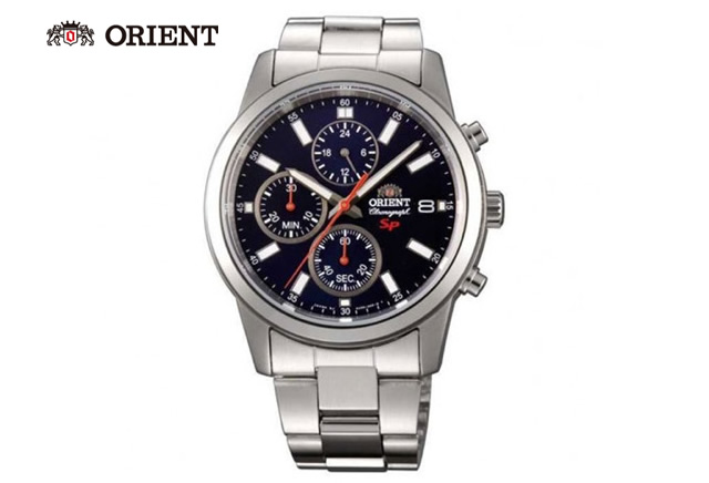 オリエントメタルバンド腕時計