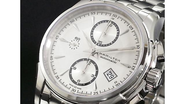 ジャズマスターメタルバンド腕時計