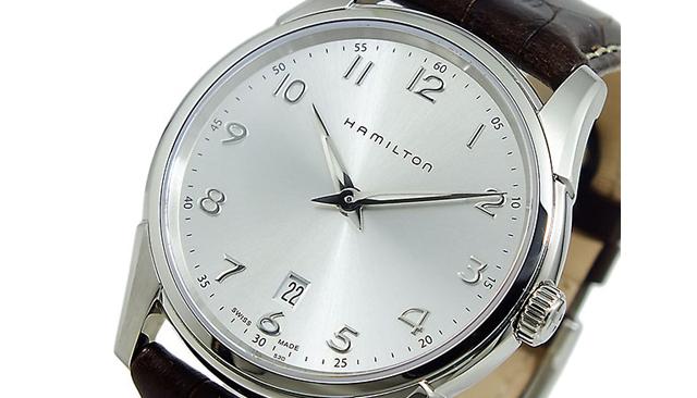 ジャズマスター革ベルト腕時計