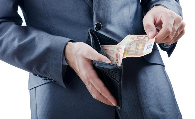 バレンタインデーに長財布