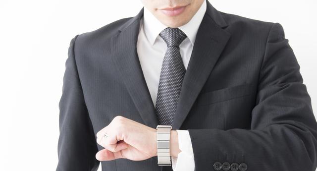 30代ビジネスマン腕時計