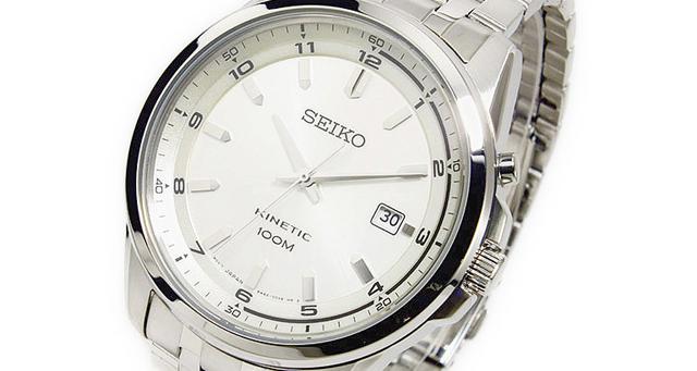 セイコー腕時計キネティックシリーズ