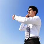 男性に人気セイコー腕時計キネティックシリーズ