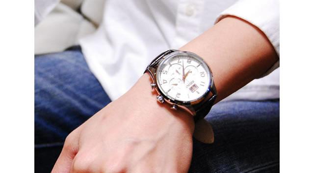 セイコーの革ベルト腕時計の魅力