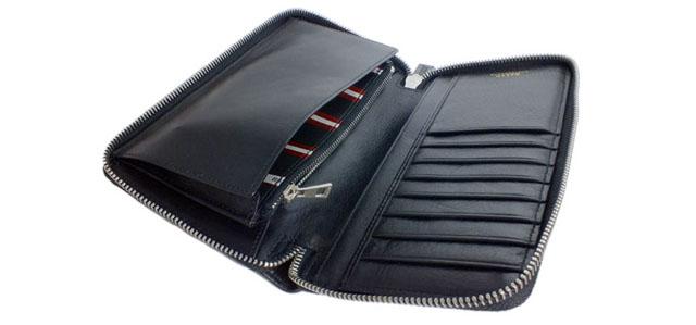 こだわりレザーの財布