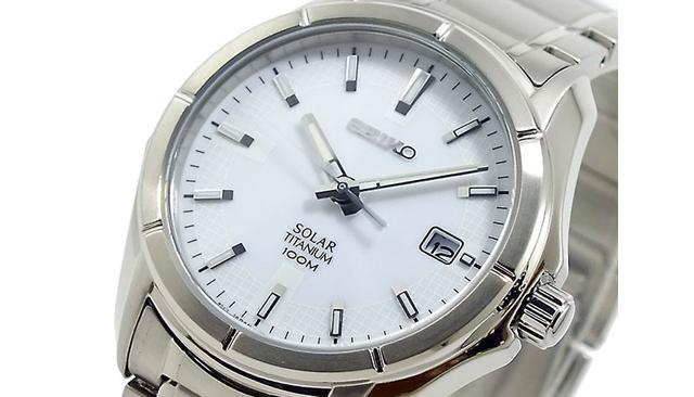 セイコーソーラー電波腕時計