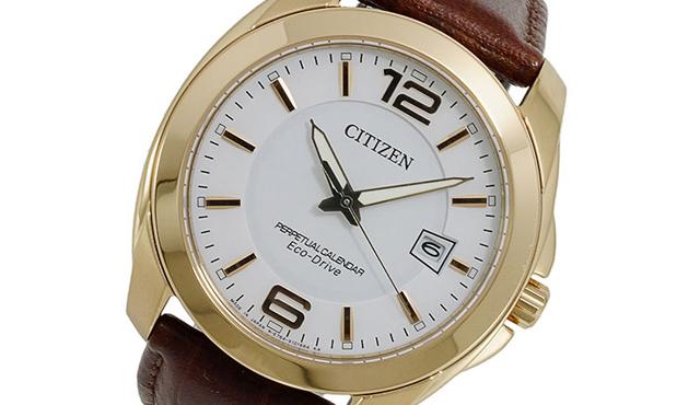 シチズンソーラー電波腕時計