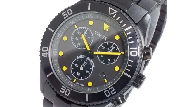 タイメックスクロノグラフ腕時計
