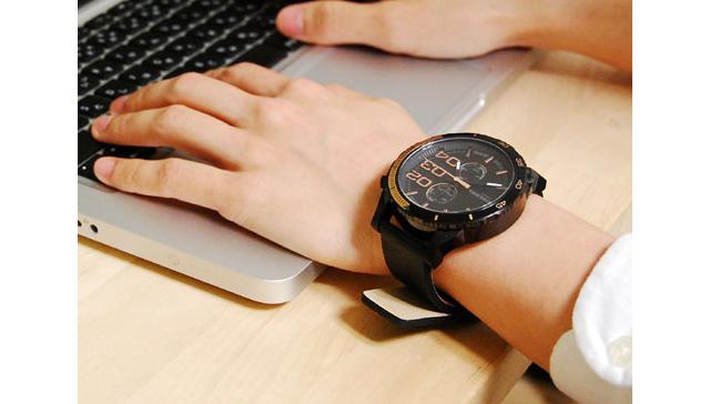 革ベルト腕時計