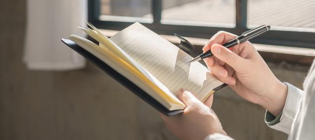 手帳と筆記具併せて使う