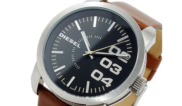 ディーセル革腕時計