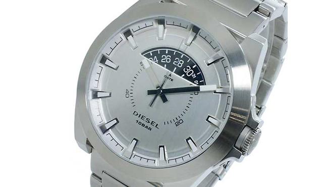 ディーゼルメタル腕時計