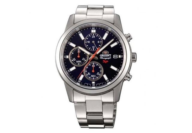 オリエント メタルバンド腕時計