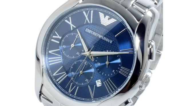 エンポリオアルマーニ腕時計 クロノグラフ