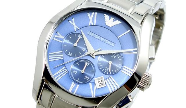 青文字盤腕時計