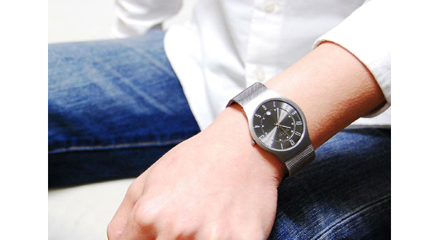 official photos 45776 43808 シンプル薄型でかっこいいスカーゲン!北欧生まれのメンズ腕時計